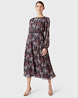 Hobbs Floral Print Eden Tea Dress