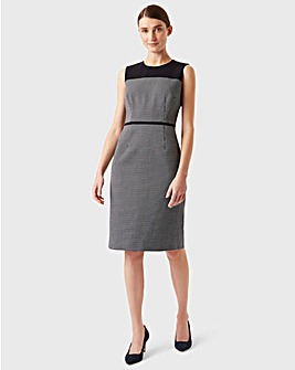 Hobbs Sleeveless Fitted Shift Dress