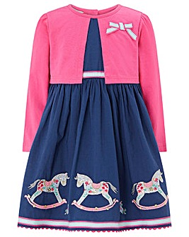 Monsoon Baby Reese Rocking Horse Dress