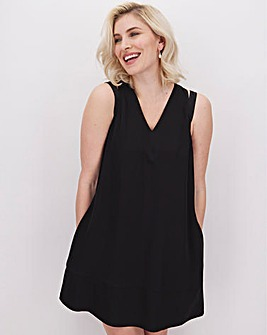 Calvin Klein Black Shift Dress