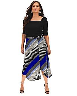 AX Paris Slip Skirt