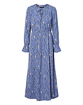 Vero Moda Printed Ankle Length Dress