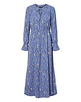 Vero Moda Printed Ankle Length Dress