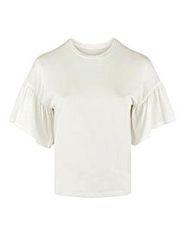 Vero Moda Frill Sleeve Top