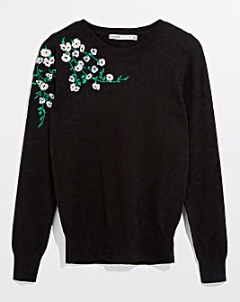 Oasis Embroidered Jumper