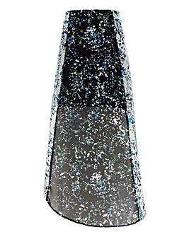 Vero Moda Floral Print Midi Skirt