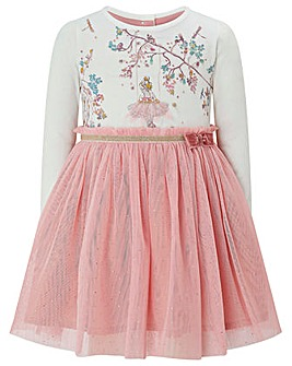 Monsoon Baby Bethany Ballerina  Dress
