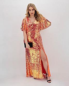 Dolly & Delicious Sequin Maxi Dress