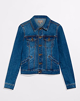 Oasis Mid Wash Denim Jacket