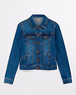 Oasis Mid Wash Denim Jacket