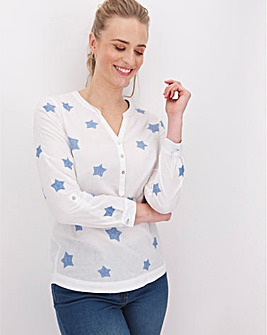 White Stuff Cloud Nine Cotton Shirt