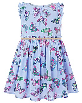 Monsoon Baby Azure Butterfly Dress