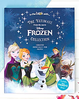 A3 Personalised Disney Frozen Collection