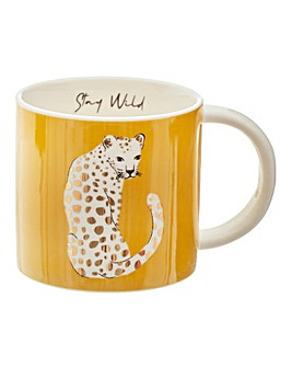Sass & Belle Leopard Mug