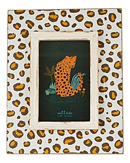 Sass & Belle Leopard Photoframe