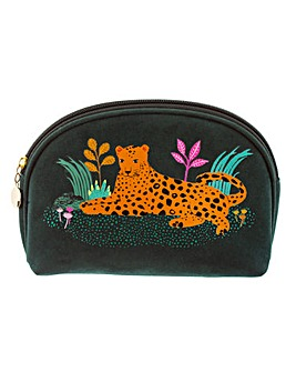 Sass & Belle Leopard Love Cosmetic Bag