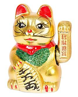 Maneki Neko Waving Cat 17cm