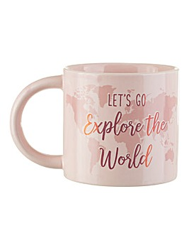 Sass & Belle World Explorer Mug