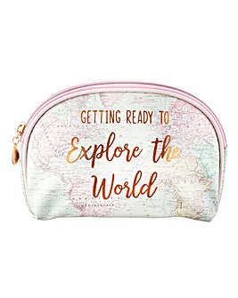 Sass & Belle World Explorer Cosmetic Bag
