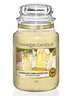 Yankee Candle Herb Lemonade Jar
