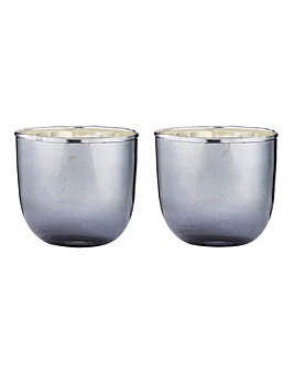 Set Of Two Jasmine Votives