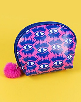 Pom Pom Cosmetic Bag