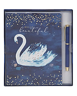 Hello Beautiful A5 Notepad & Pen Set