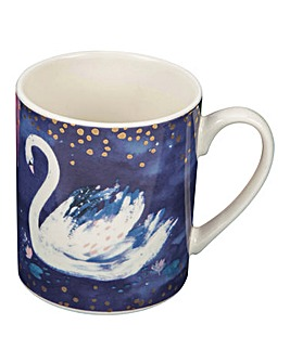 Swan Lake Hello Beautiful Mug