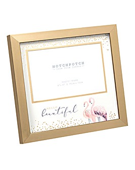 Swan Lake Photo Frame Hello Beautiful