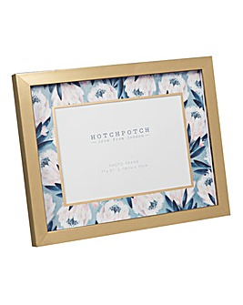 Swan Lake Blue Floral Photoframe