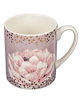 Swan Lake Pink Floral Mug
