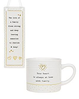 Family Mug & Plaque Bundle