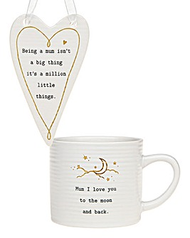 Mum Mug & Plaque Bundle