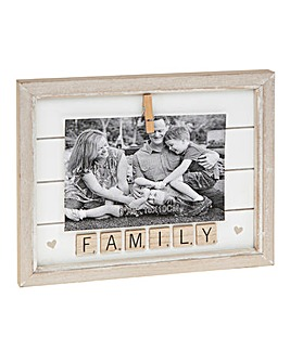 Family Scrabble Frame 4x4