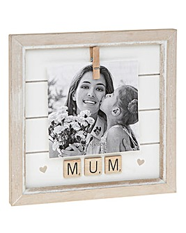 Mum Scrabble Frame 4x4