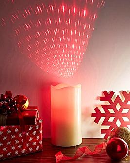 Laser LED Candle
