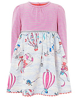 Monsoon Baby Dorian Balloon 2In1 Dress