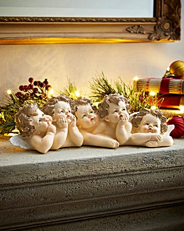Cherub Christmas Decoration
