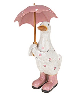 Polka Dot Brolly Small Duck