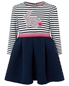 Monsoon Baby Leli 2In1 Stripe Dress