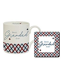 Personalised Mug & Coaster Set