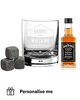 Personalised Whisky set