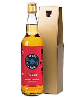Personalised Oldie Goodie Single Malt