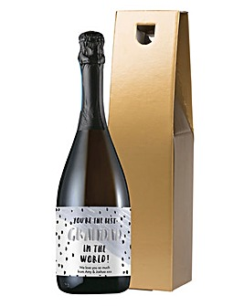 Personalised Best Grandad Prosecco