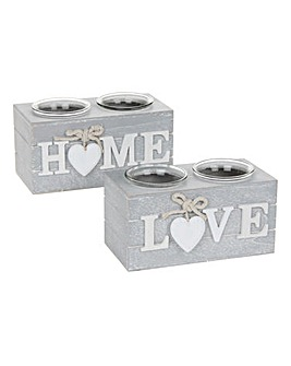Provence Home Tealight Holder