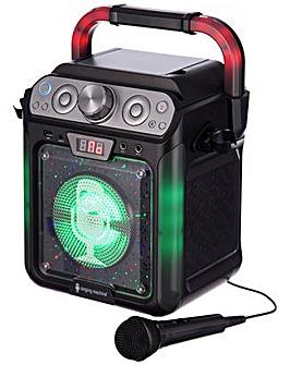 Singing Karaoke with Bluetooth Lights