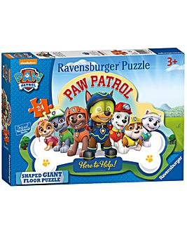 Paw Patrol Shaped Giant Floor Puzzle