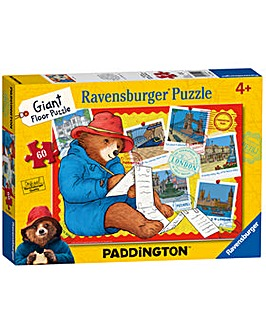 Paddington Bear Giant Floor Puzzle 60 Pc