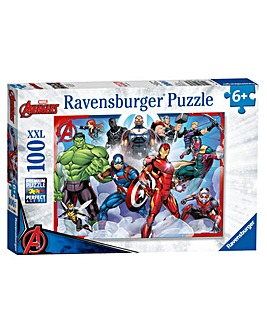 Marvel Avengers XXL 100 Piece Puzzle