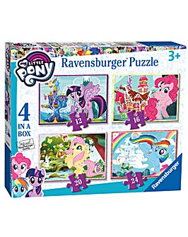 My Little Pony 4 In A Box Puzzle